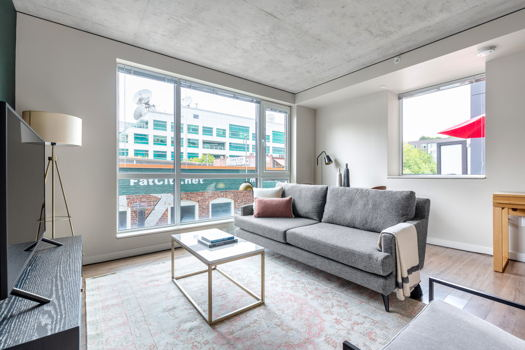 Picture 1 of 1 bedroom Apartment in Seattle