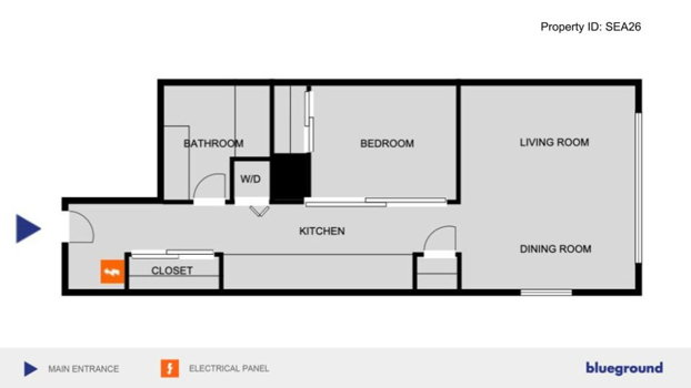 Picture 16 of 1 bedroom Apartment in Seattle