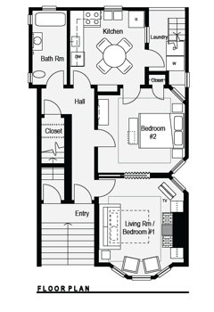 Picture 9 of 2 bedroom Flat in San Francisco