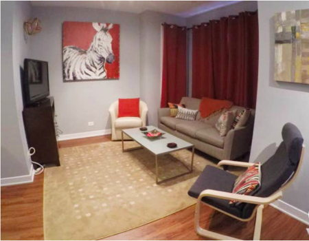 Picture 1 of 3 bedroom Flat in Chicago