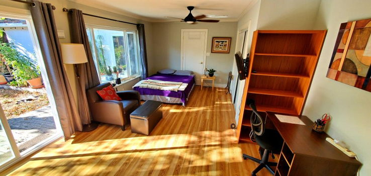 Picture 2 of 1 bedroom Guest house in Palo Alto